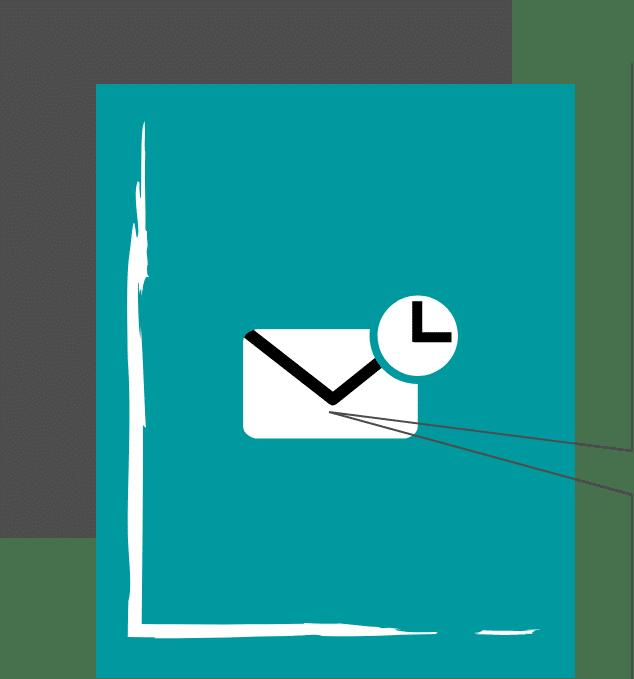 Echtzeit-Zustellung von E-Mails