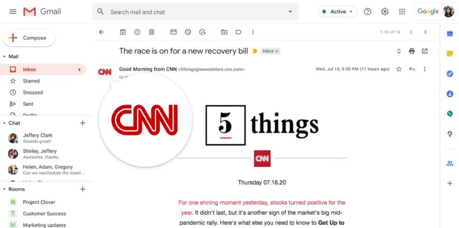 BIMI Gmail