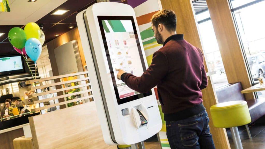 McDonalds self-order system